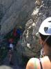 erste Steilstufen kommen