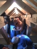 Einzug im Matratzenlager