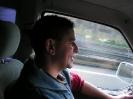 Wärend der Fahrt nicht mit dem Wagenführer sprechen